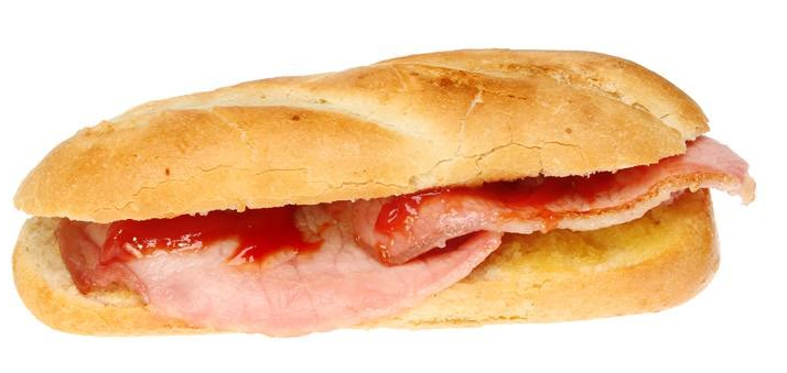bacon sandwich delivery