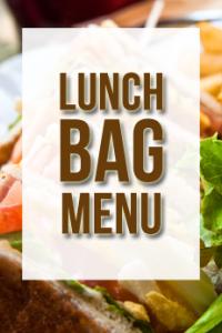 lunch bag menu
