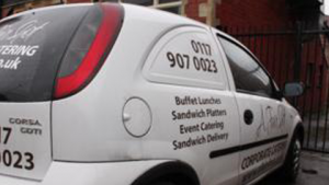 Buffet lunch delivery Bristol